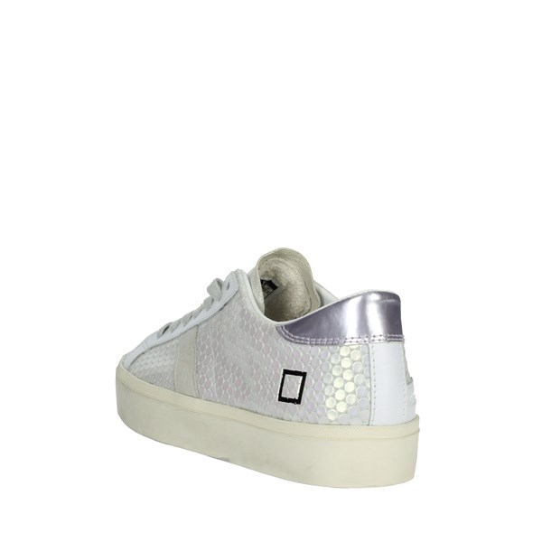 D.a.t.e. Shoes Sneakers White/Silver E20-33
