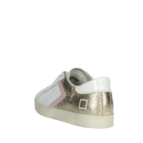 D.a.t.e. Shoes Sneakers White/Gold E20-39
