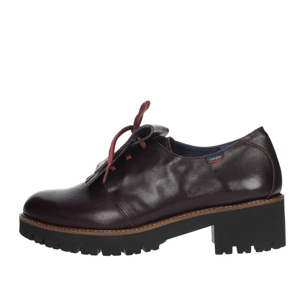 Callaghan Shoes Brogue Burgundy 13426