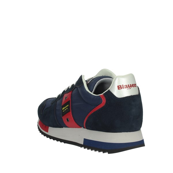 Blauer Shoes Sneakers Blue/Red QUEENS01