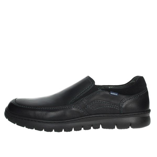 Baerchi Shoes Moccasin Black 5317