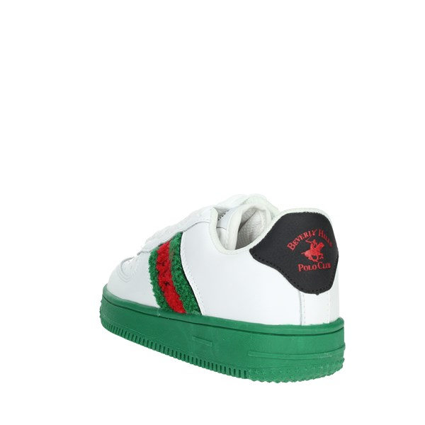 Beverly Hills Polo Club Shoes Sneakers White/Green PC05