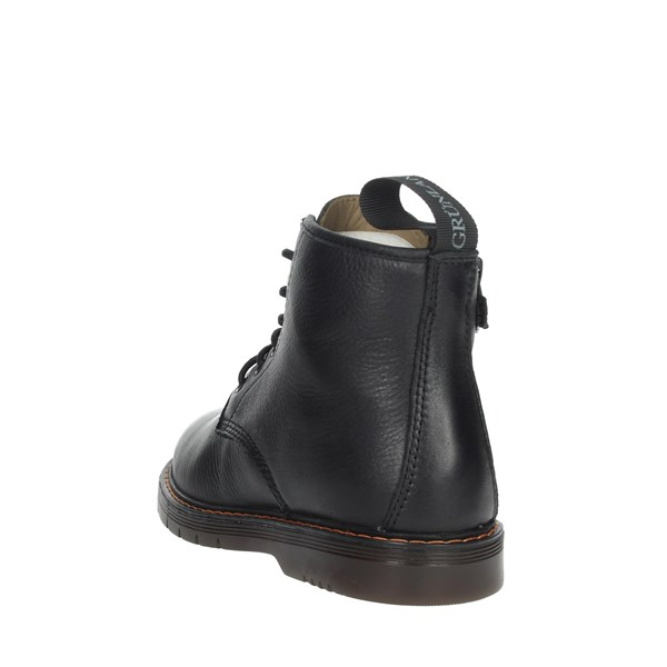 Grunland Shoes Boots Black PO1177-88