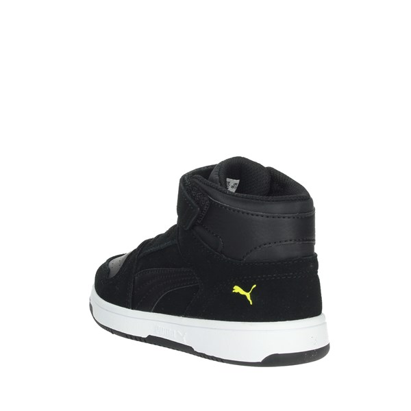 Puma Shoes Sneakers Black/Yellow 370495