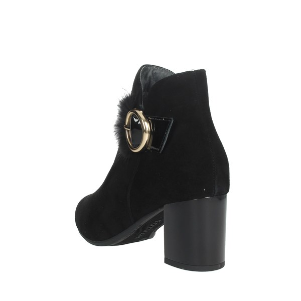 Pitillos Shoes Ankle Boots Black 5851