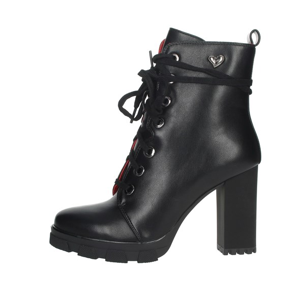 Braccialini Shoes Ankle Boots Black TUA39
