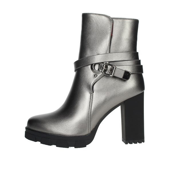 Braccialini Shoes Ankle Boots Grey TUA41