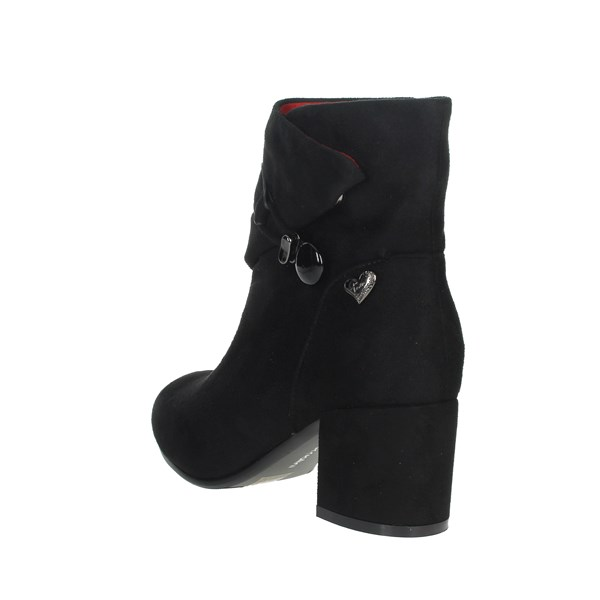 Braccialini Shoes Ankle Boots Black TUA32