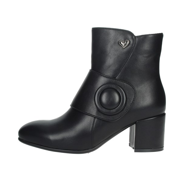 Braccialini Shoes Ankle Boots Black TUA31