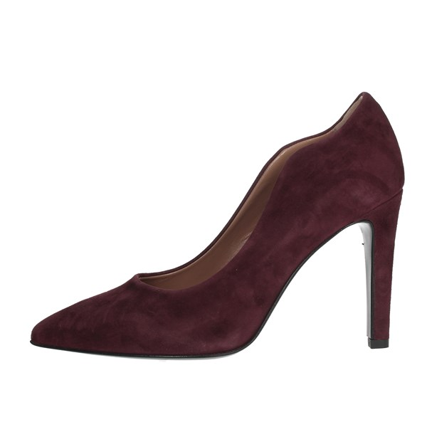 Chiara Firenze Shoes Heels' Burgundy 1912