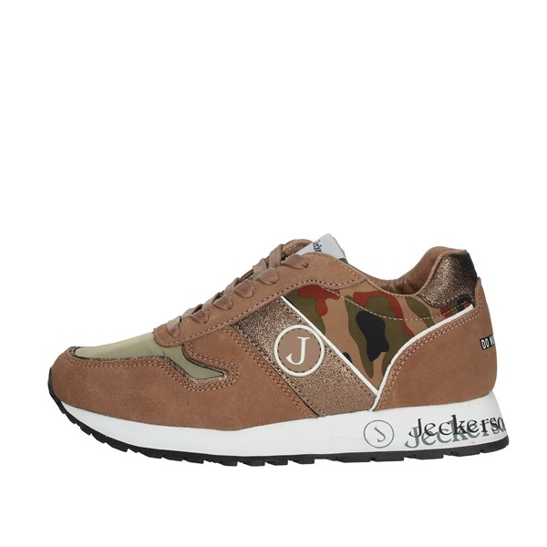 Jeckerson Shoes Sneakers Brown Taupe JGAC038