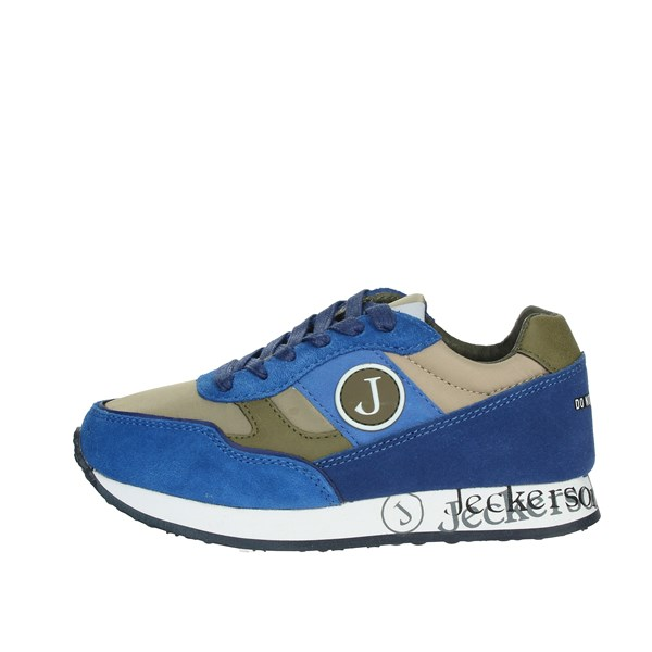 Jeckerson Shoes Sneakers Blue/Green JGAB009