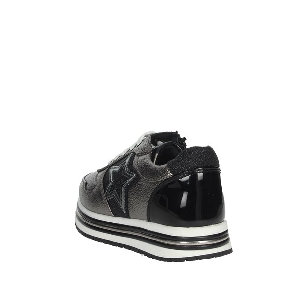 Asso Shoes Sneakers Charcoal grey AG-3250