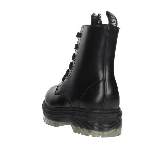 Asso Shoes Boots Black AG-3804