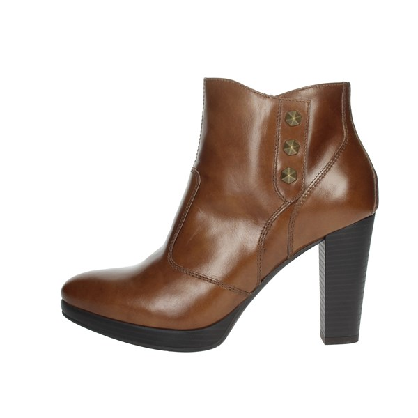 Nero Giardini Shoes Ankle Boots Brown leather A908711D