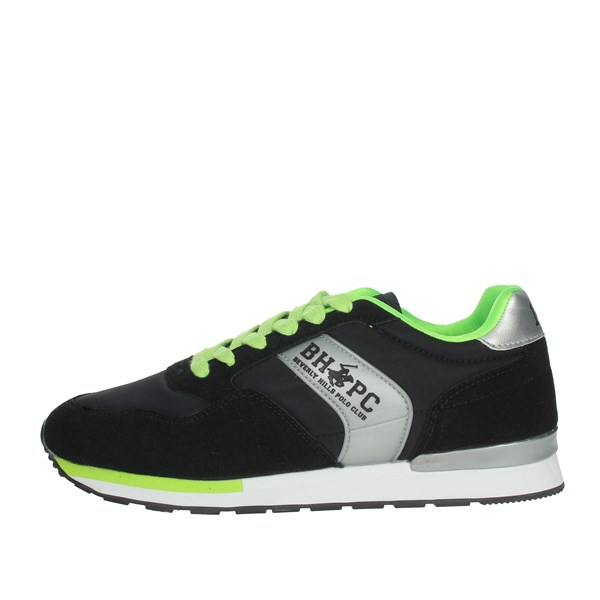 Beverly Hills Polo Club Shoes Sneakers Black/Green BH623