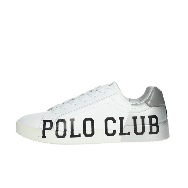 Beverly Hills Polo Club Shoes Sneakers White/Silver PC107