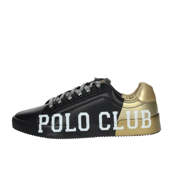 Beverly Hills Polo Club Shoes Sneakers Black/Gold PC107