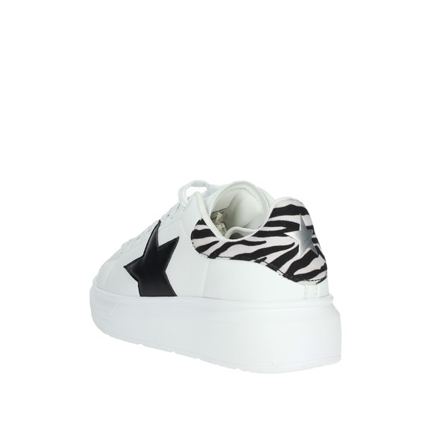 Shop Art Shoes Sneakers White/Black 20554