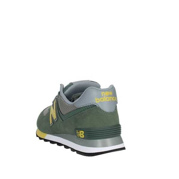 New Balance Shoes Sneakers Green ML574FNE
