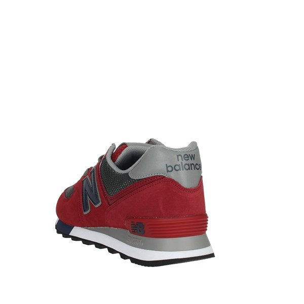 New Balance Shoes Sneakers Red ML574FNB