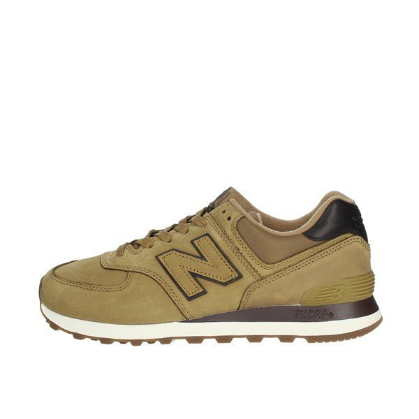 New Balance Shoes Sneakers Mustard ML574NBH