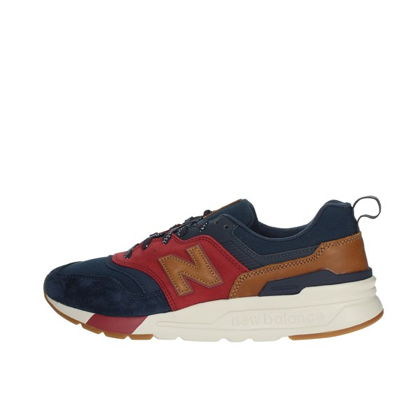 New Balance Shoes Sneakers Blue/Red CM997HDT