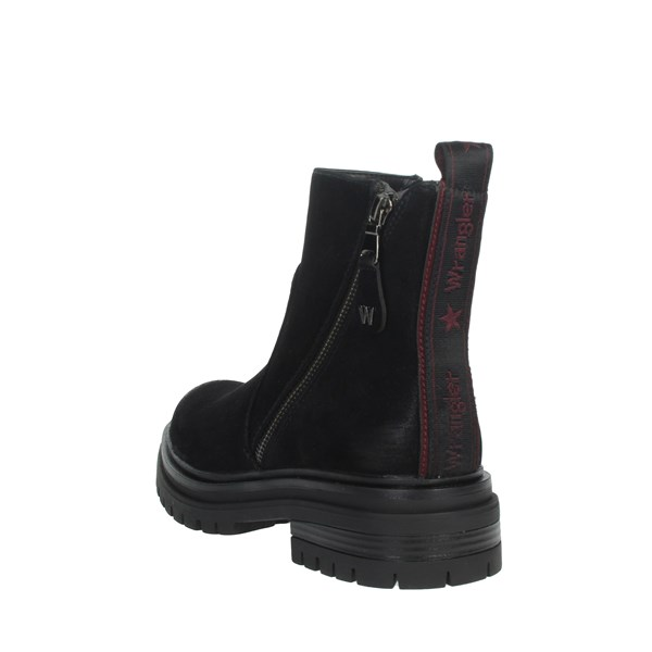 Wrangler Shoes Ankle Boots Black WL92663A