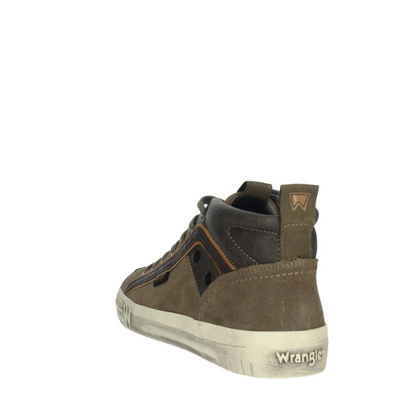 Wrangler Shoes Sneakers Brown Taupe WM92105A