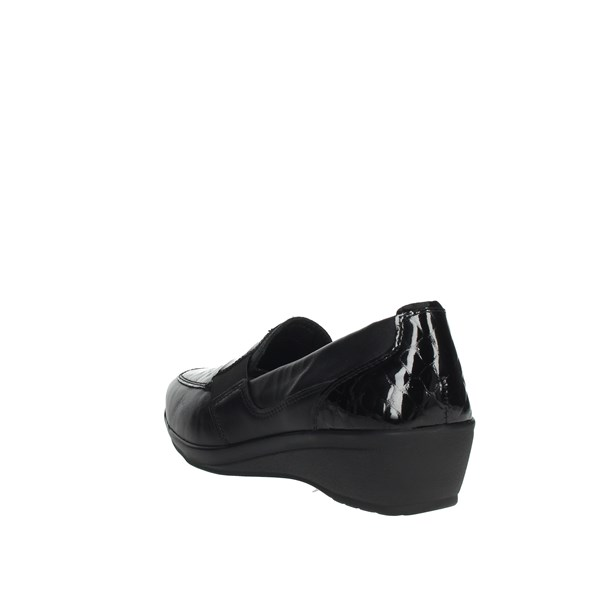 Cinzia Soft Shoes Loafers Black IV7032SP-WP