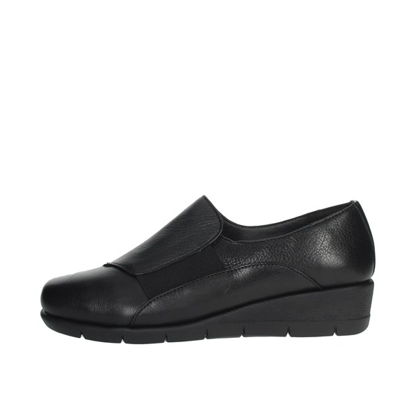 Cinzia Soft Shoes Loafers Black IV9403-NS