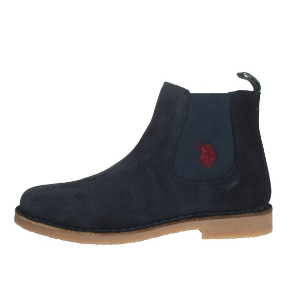 U.s. Polo Assn Shoes Ankle Boots Blue MUST3256W4/S9A