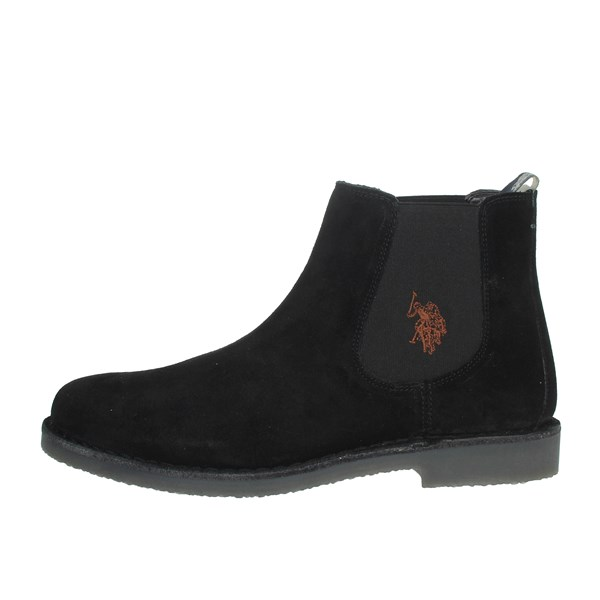 U.s. Polo Assn Shoes Ankle Boots Black MUST3256W4/S9A