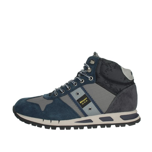 Blauer Shoes Sneakers Blue/Grey MUSTANG02