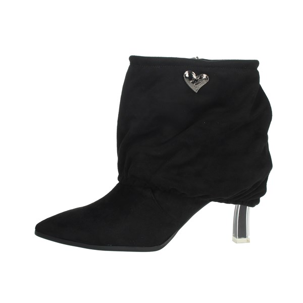 Braccialini Shoes Ankle Boots Black TUA90