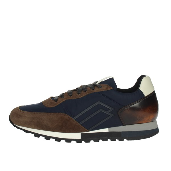 Frau Shoes Sneakers Brown/Blue 2305