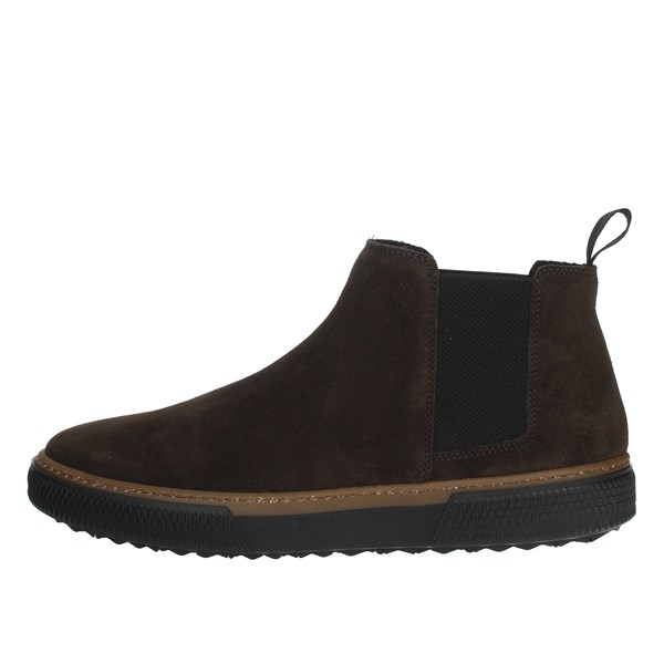 Frau Shoes Ankle Boots Brown 2812