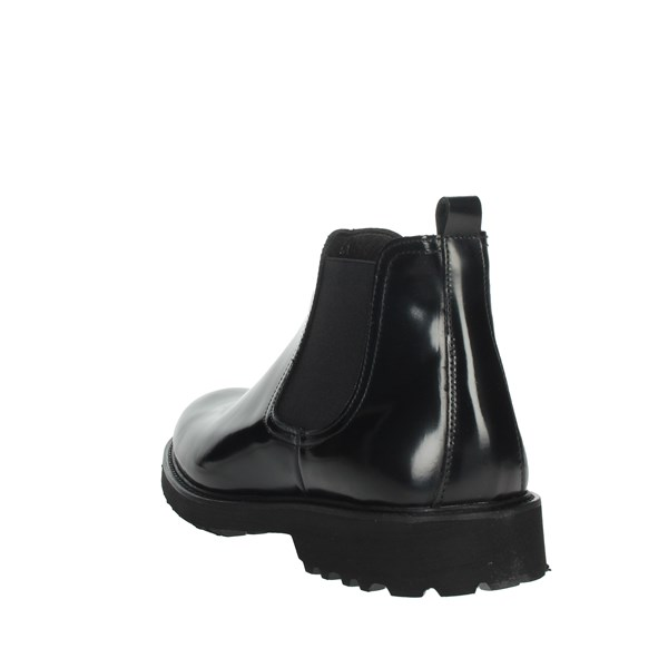 Exton Shoes Ankle Boots Black 465