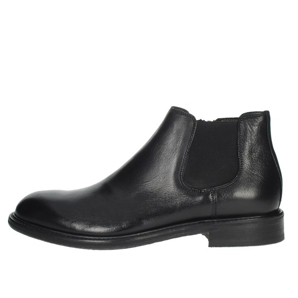 Exton Shoes Ankle Boots Black 5357