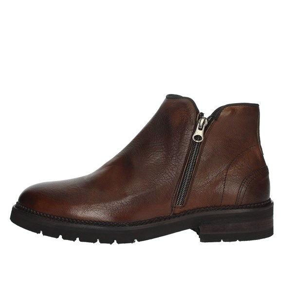 Exton Shoes Ankle Boots Brown leather 25