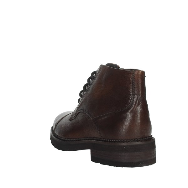 Exton Shoes Boots Brown leather 22