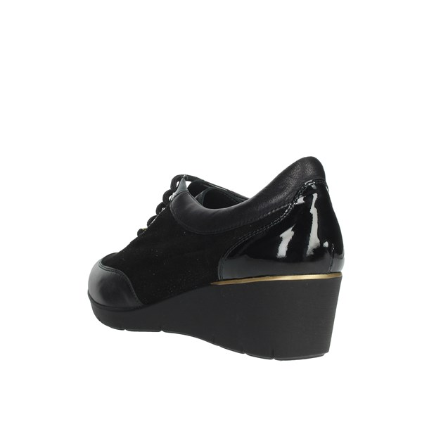 Valleverde Shoes Sneakers Black V17368