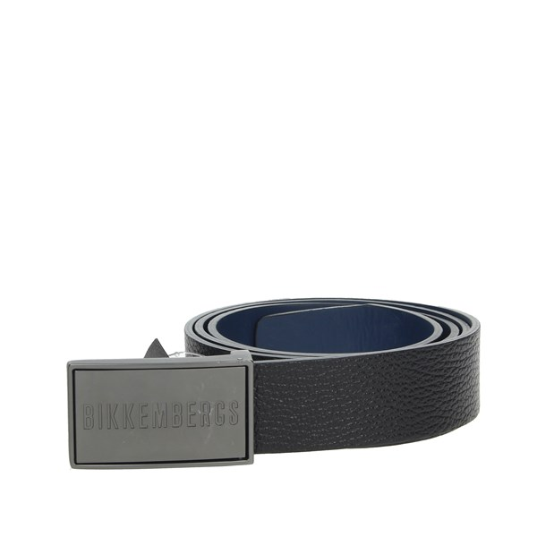 Bikkembergs Accessories Belts Black/Blue 350394