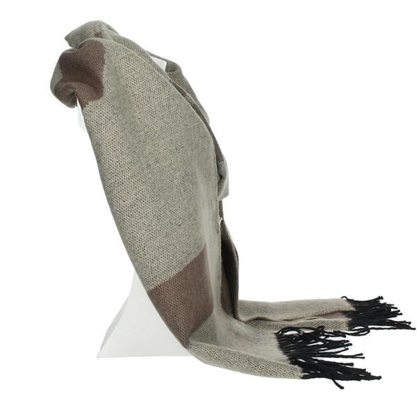 1 Classe Accessories Scarves Brown Taupe S015 AM02