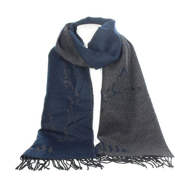1 Classe Accessories Scarves Blue S006 AM07