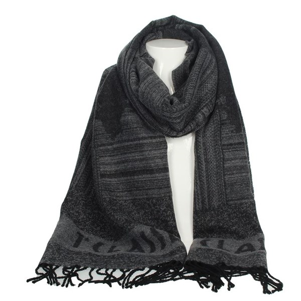1 Classe Accessories Scarves Grey S009 AM05