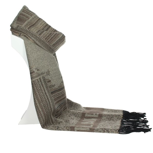 1 Classe Accessories Scarves Brown Taupe S009 AM05
