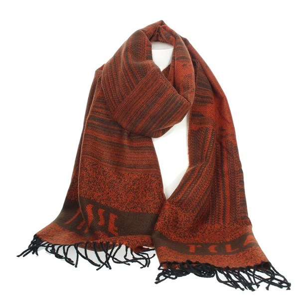 1 Classe Accessories Scarves Brick-red S009 AM05