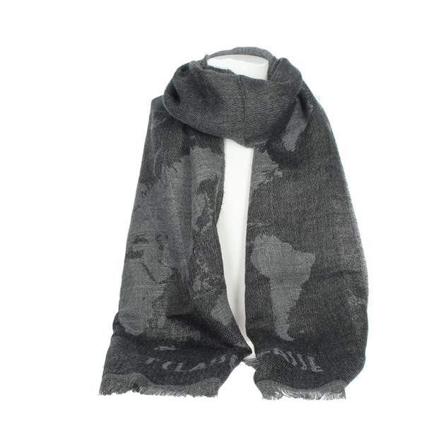 1 Classe Accessories Scarves Grey S029 7894