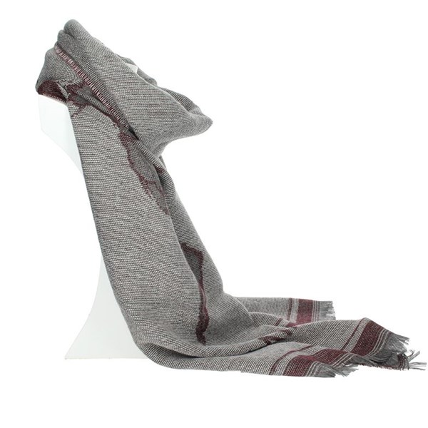 1 Classe Accessories Scarves Burgundy S025 8515